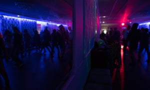 Bishkek's only LGBT club night before it closed.