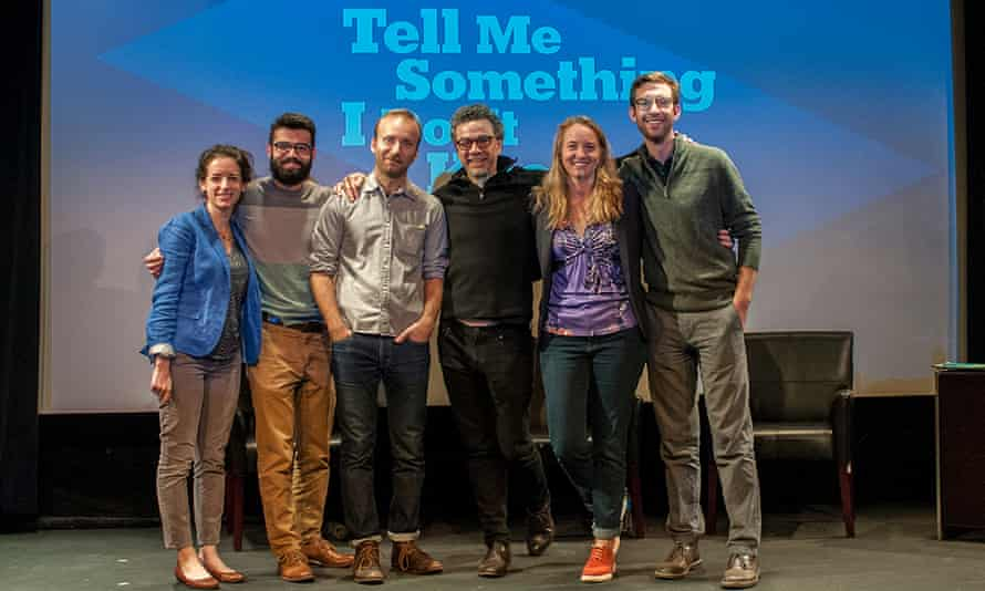 The Tell Me Something I Don't Know podcast team