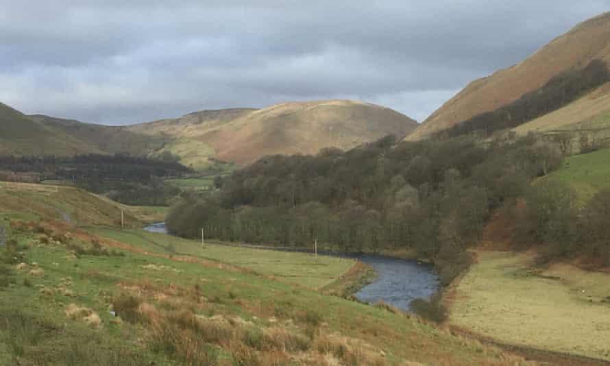 View towards Low Park farm in Tebay, Cumbria.