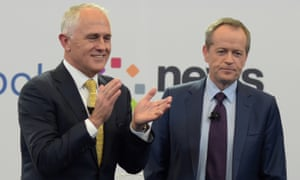 Malcolm Turnbull and Bill Shorten