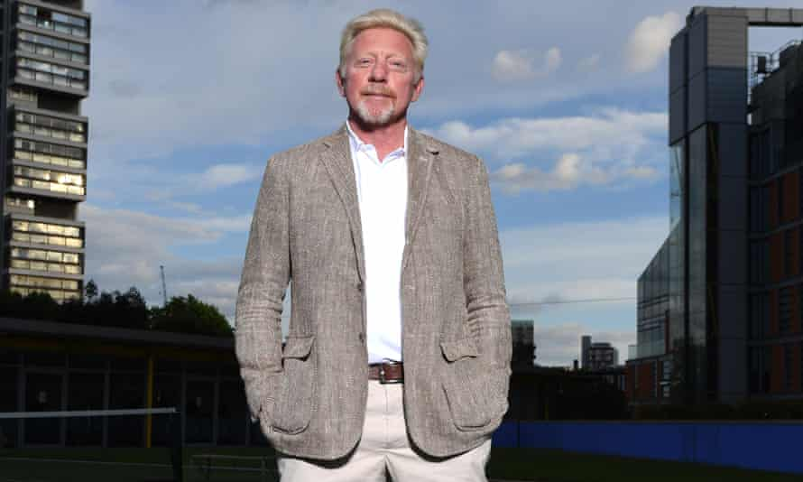'I didn't always think I was going to make it': Boris Becker.