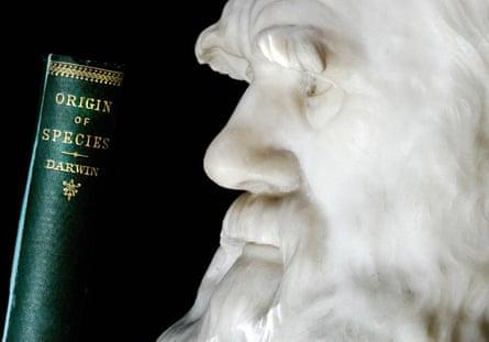 copy of Charles Darwin's book On the Origin of Species