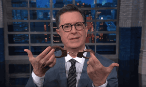 Stephen Colbert: 'There is proof of a huge conspiracy working against getting Trump elected: a shadowy group known as the popular vote.'
