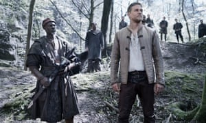 Djimon Hounsou and Charlie Hunnam in King Arthur: Legend Of The Sword