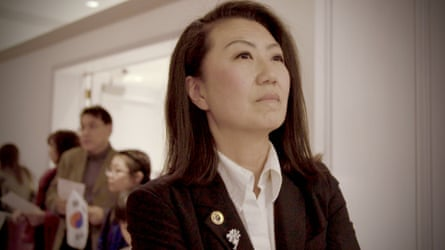 Julie Cho, one of the candidates followed in the film.