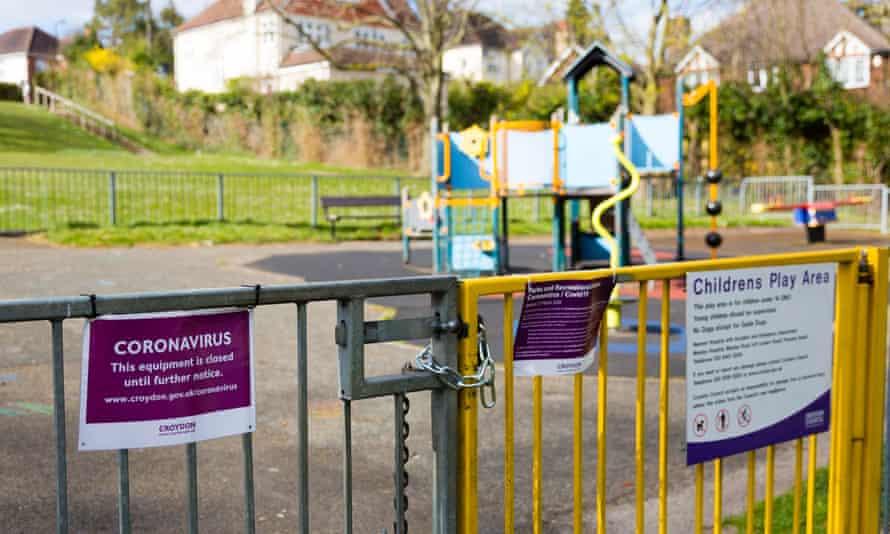 Closed children's playground