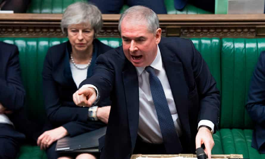 Geoffrey Cox in the House of Commons