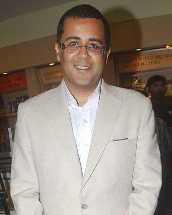 Chetan Bhagat.
