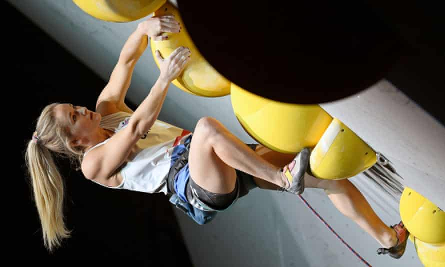 Shauna Coxsey will take part in the sport climbing events at Tokyo.