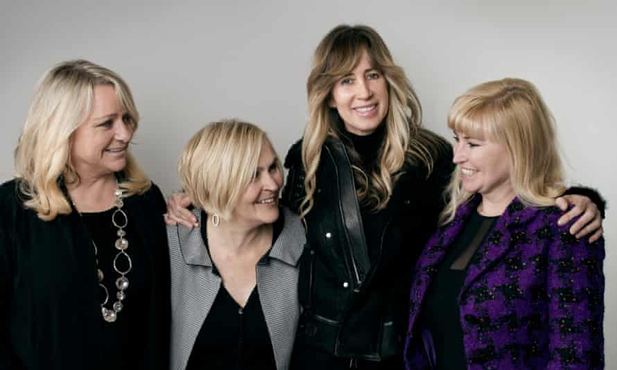 For richer, for poorer: (from left) Vivien Hobbs, Caroline Hopkins, Michelle Young and Janna Kremen, all members of the Michelle Young Foundation.