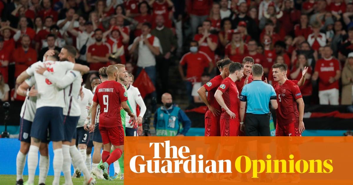 England emerge into the light after night of noirish Nordic drama