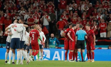 England emerge into the light after night of noirish Nordic drama | Barney Ronay