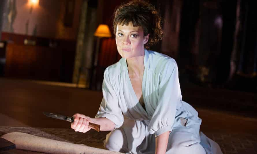 Helen McCrory in the National Theatre's 2014 production of Medea.