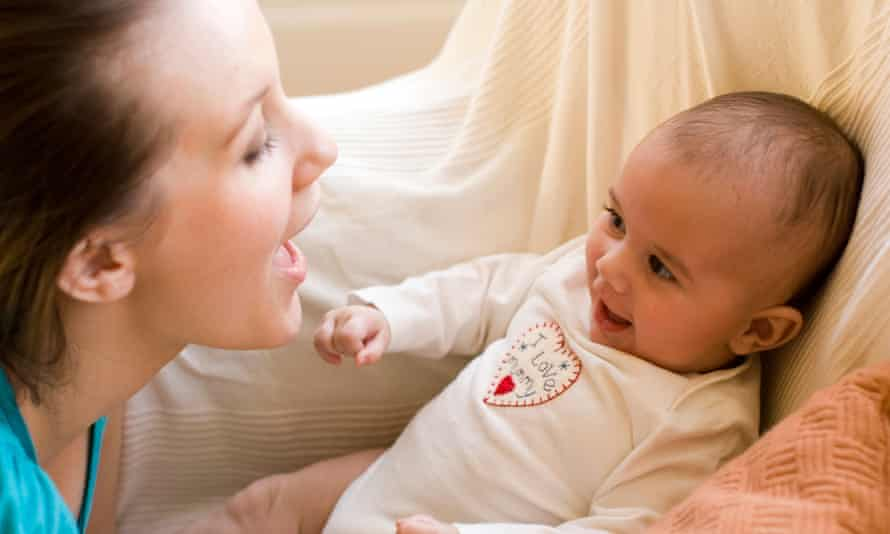 A mother's baby talk makes sense to babies and could potentially lead to speech development tools.
