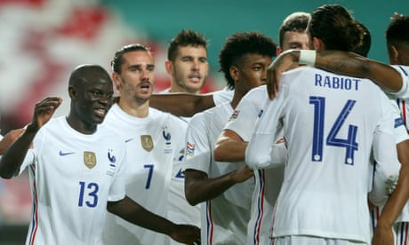 Nations League roundup: Kanté's strike for France knocks out holders Portugal