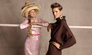 Stella Tennant and her youngest daughter Iris