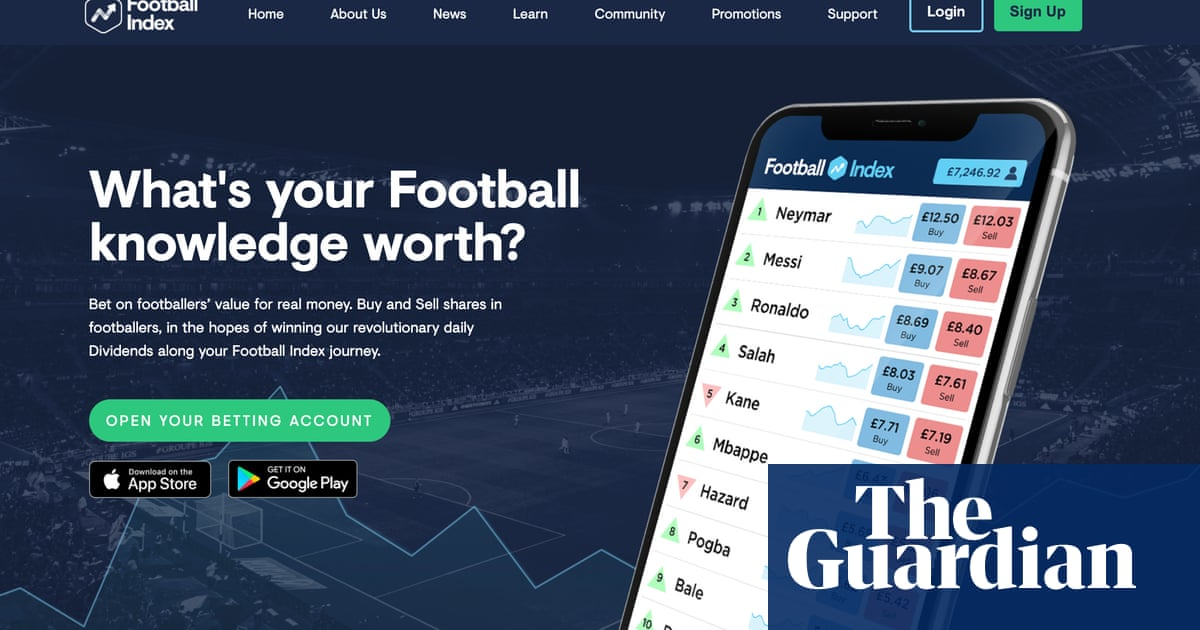 Football Index: Gambling Commission was warned about firm in January 2020