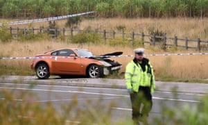 Four Die After Quad Bike Collides With Sports Car Uk News The