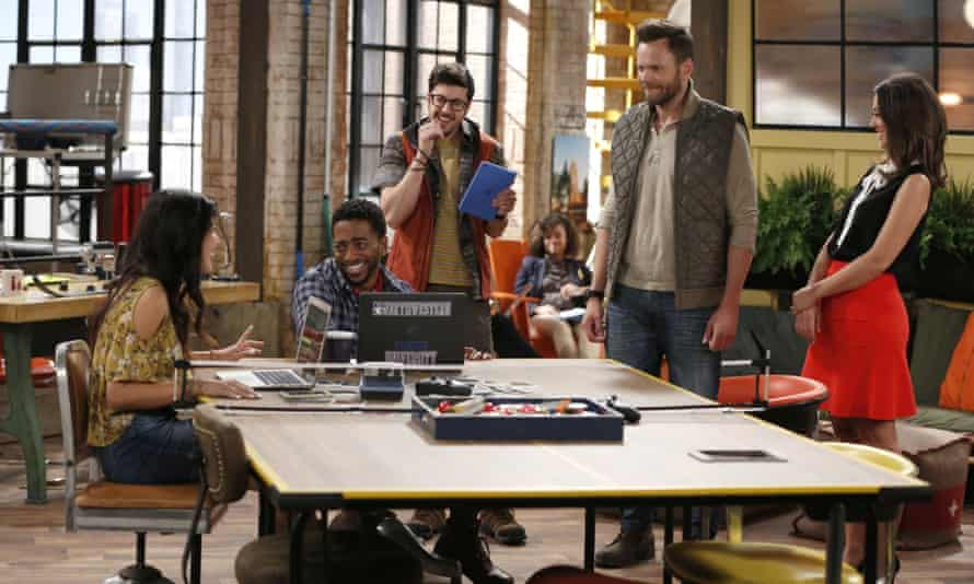 The US TV comedy The Great Indoors, which was based on the theme of millennial-bashing.