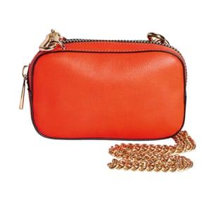 Orange bag from next