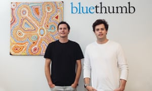 Edward, 37, and George, 35, run a marketplace that connects artists with art collectors online