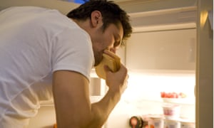 One patient would raid his fridge while fast asleep.
