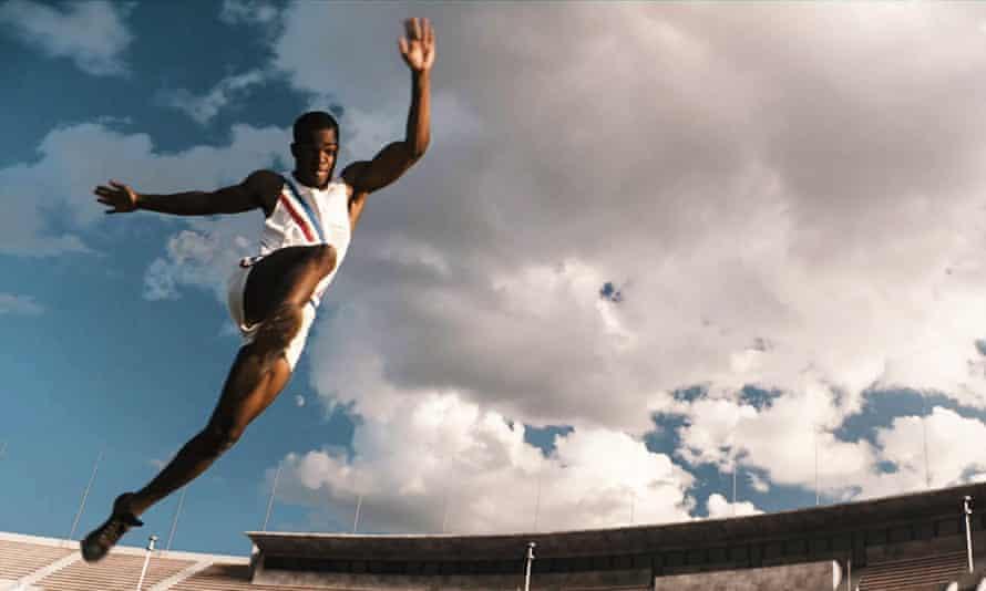 James as Jesse Owens in Race