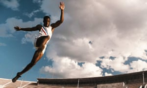 One of the biggest eff-yous ever recorded in competitive sport … Stephan James as Jesse Owens in Race.
