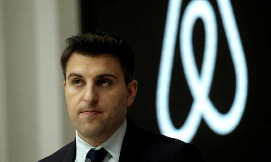 Brian Chesky, the chief executive of Airbnb