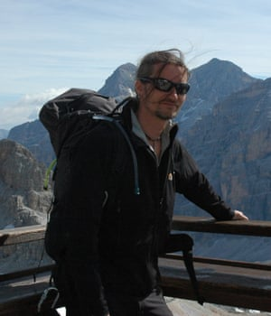 Mark Kennedy on holiday in Italy in 2010