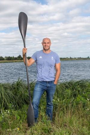 British sprint canoeist and multiple Olympic medalist Liam Heath, MBE.