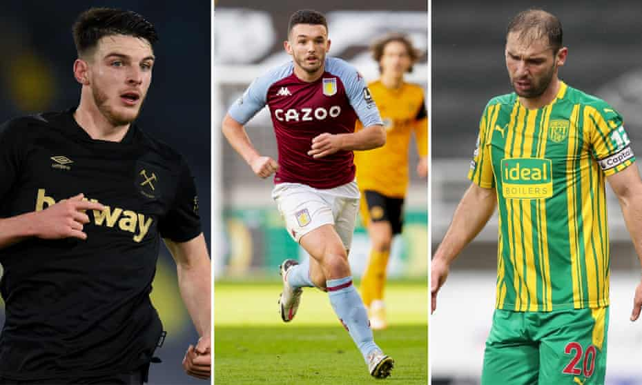 Declan Rice; John McGinn; Branislav Ivanovic.