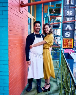 Brandon Jew and Anna Lee own Mister Jiu's restaurant in San Francisco.