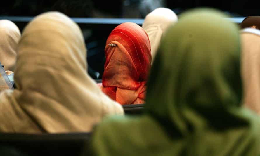 Hijab-wearing women
