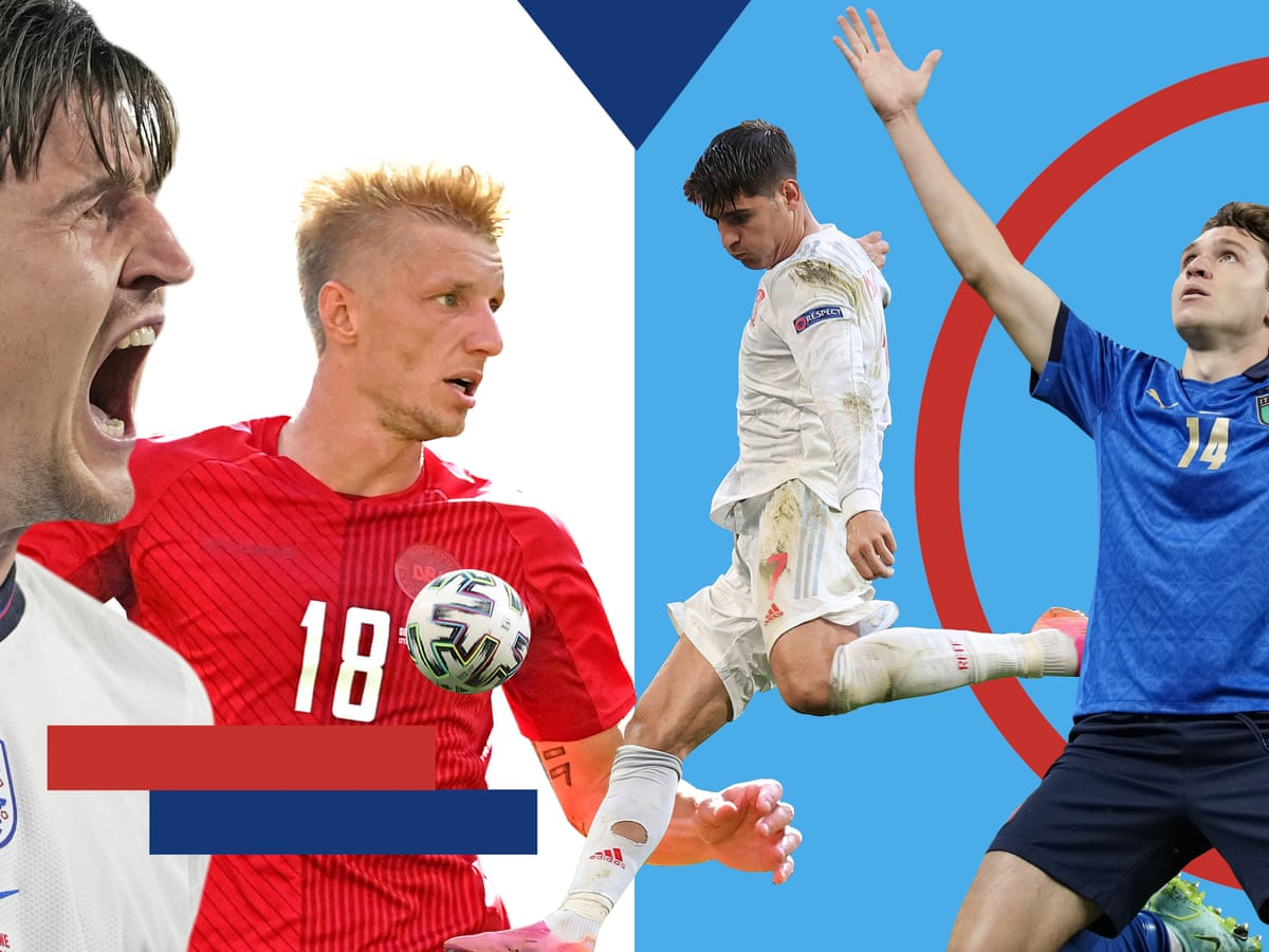 Euro 2020 Previews And Predictions For The Semi Finals Euro 2020 The Guardian