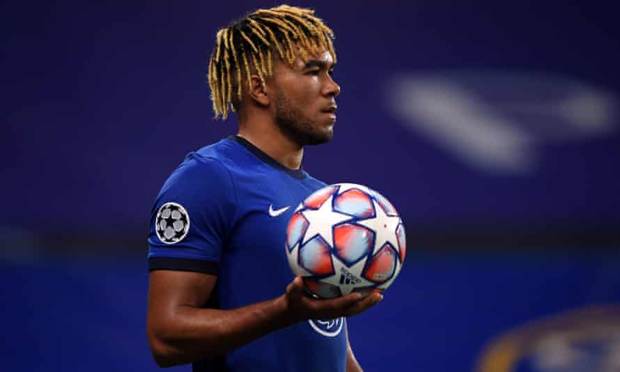 Chelsea's Reece James. 'I am appalled by the racist abuse targeted at Reece on social media', said Roman Abramovich.