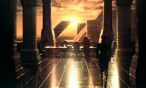 The grim city in Autonomous recalls Ridley Scott's Blade Runner.