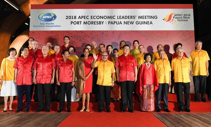 Awkward Apec fashion: what world leaders wore – in pictures