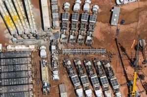 Fracking – Williston, North Dakota, US