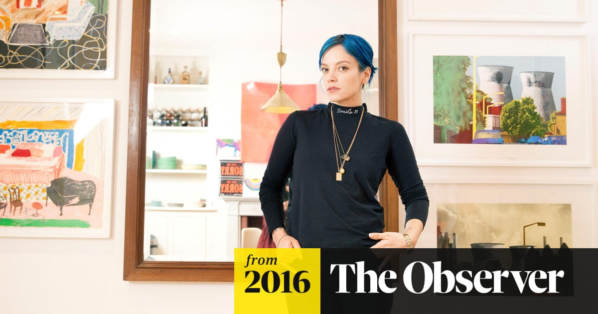 Lily Allen on being stalked: 'I was asleep  He steamed into the