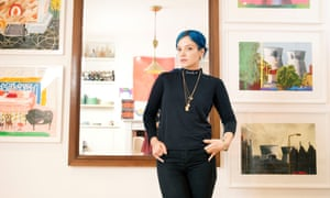 'An incorrigible fly in the ointment': Lily Allen at home in west London