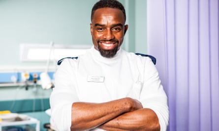 Jacob Masters in Casualty played by CHARLES VENN