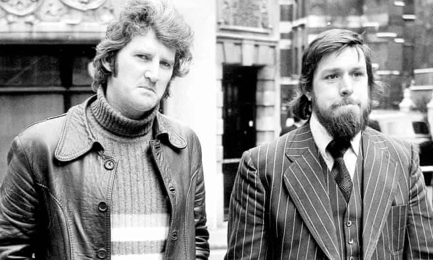 Des Warren and Ricky Tomlinson, the Shrewsbury Two, who were jailed for their parts in a builders' strike in 1972