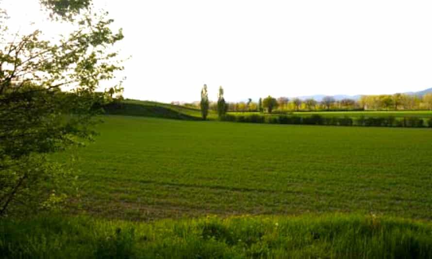 The Tuscan countryside around Villaggio La Brocchi