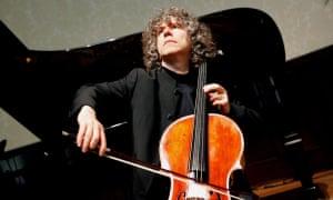 A bow to Schumann … Steven Isserlis