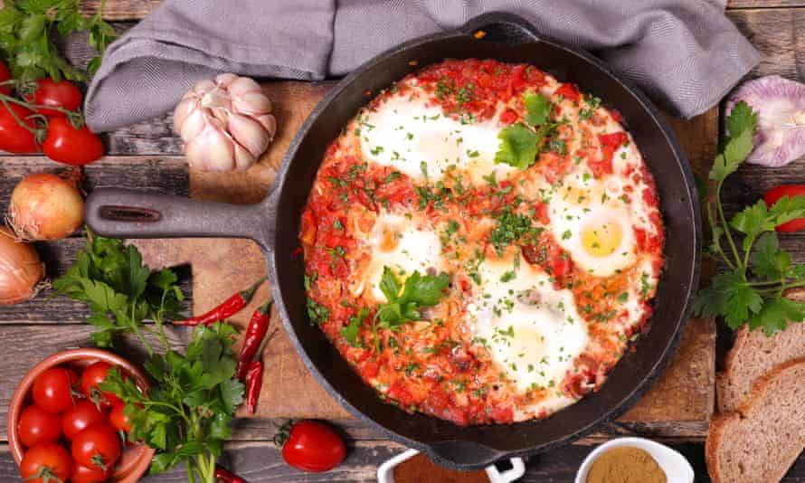Shakshuka makes a great breakfast or lunch