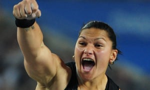 Shot put champion Valerie Adams said: 'Rugby, like any sport, ought to be embraced by our Tongan women.'