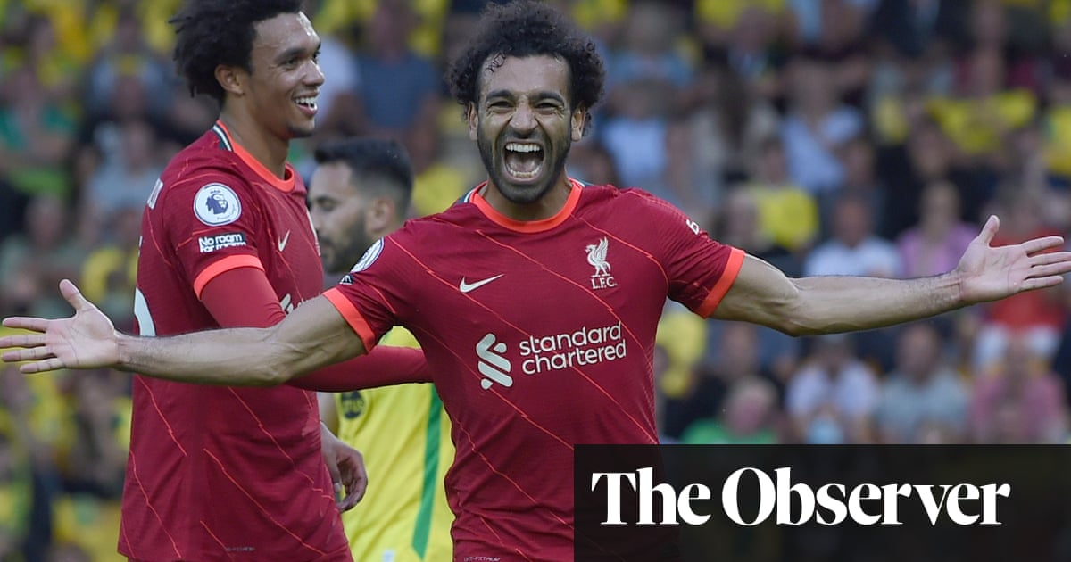 Mohamed Salah's sublime strike seals Liverpool win over Norwich