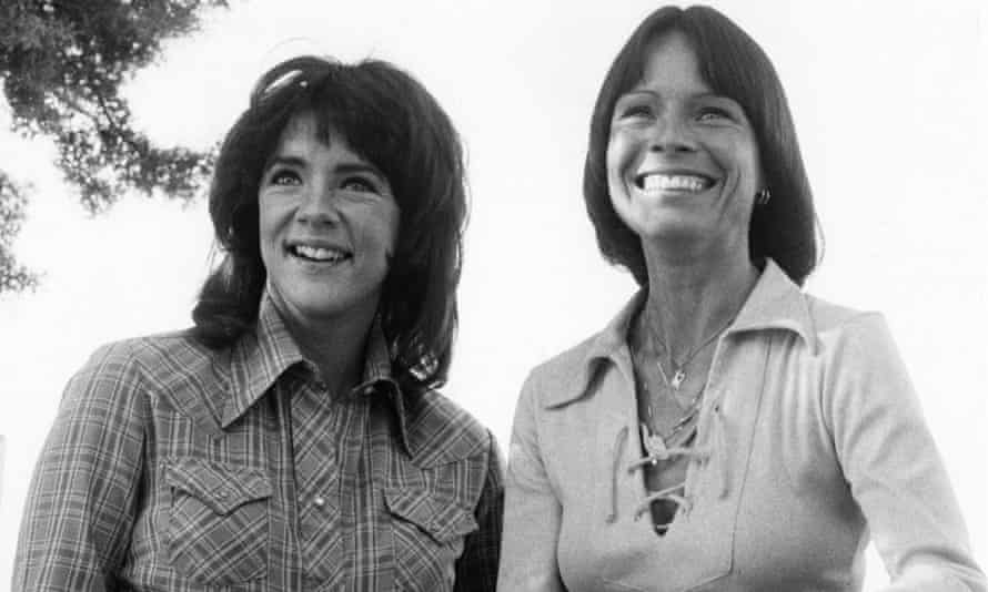 Stockard Channing and Kitty O'Neil in 1979.