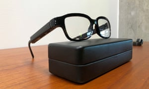 Amazon's new eyeglasses that come with its virtual assistant Alexa.